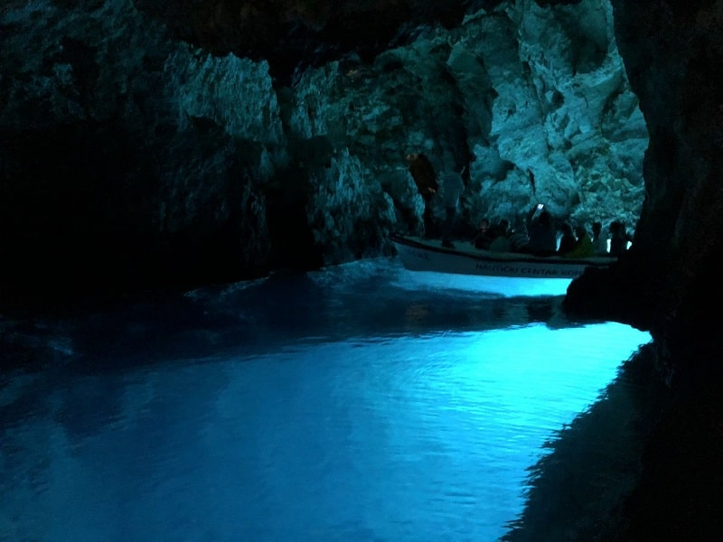 Three cave tour starting from hvar - blue cave