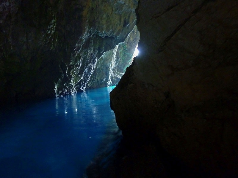 Three cave tour starting from hvar - monkey cave